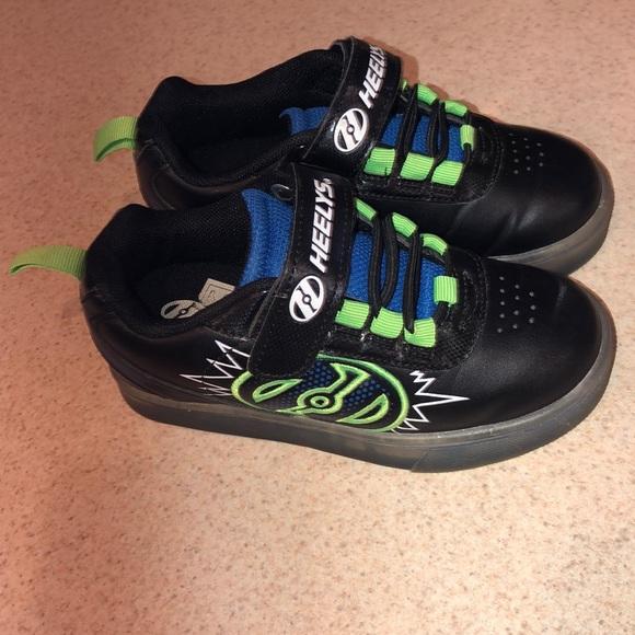 Heelys X2 POW Heelys lightup heelys girls heelys boys roller skate shoes size 12
